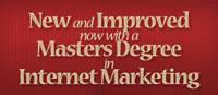 Masters in Internet Marketing from Full Sail University